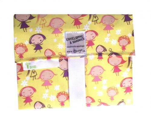 Girls Envelope Wrap
