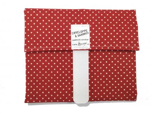 Red Dots Envelope Wrap